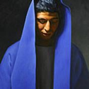 Blue Poster by Gary  Hernandez