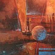 Blue Planet Poster by Tom Shropshire