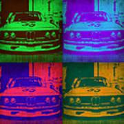 Bmw Racing Pop Art 1 Poster by Naxart Studio
