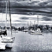 Boat Blues Poster by John Rizzuto
