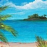 Boca Chica Beach Poster by Anastasiya Malakhova