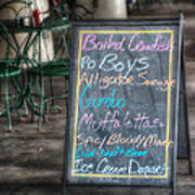 Boiled Crawfish Special Poster by Brenda Bryant