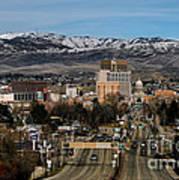 Boise Idaho Poster by Robert Bales