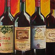 Bordeaux Poster by Sheri  Chakamian