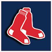 Boston Red Socks Poster by Tony Rubino