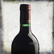 Bottle Of Bordeaux Poster by Bernard Jaubert