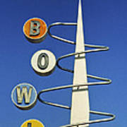 Bowl Sign Poster by Matthew Bamberg