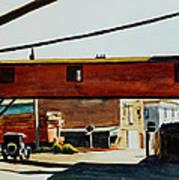 Box Factory Poster by Edward Hopper