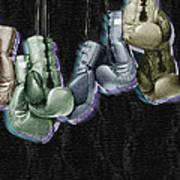 Boxing Gloves Poster by Tony Rubino