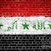 Brick Wall Iraq Poster by Antony McAulay