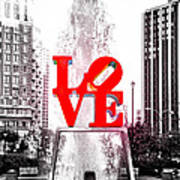 Brightest Love Poster by Bill Cannon