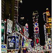 Broadway Poster by Joan  Minchak