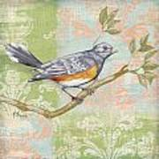 Brocade Songbird Iv Poster by Paul Brent