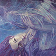 Broken Wings Poster by Dorina  Costras