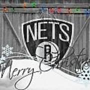 Brooklyn Nets Poster by Joe Hamilton