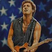Bruce Springsteen 'born In The Usa' Poster by David Dunne