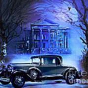 Buick 1930 Poster by Andrzej Szczerski