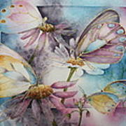 Butterfly Garden Poster by Patsy Sharpe