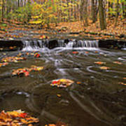 Buttermilk Falls Poster by Dale Kincaid