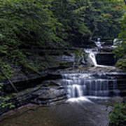 Buttermilk Waterfalls Poster by David Simons