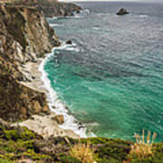 California Coast Poster by Pierre Leclerc Photography
