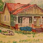Calvin Baber House Poster by Lynn Beazley Blair
