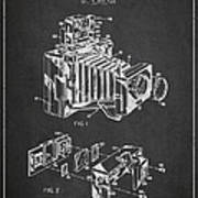Camera Patent Drawing From 1963 Poster by Aged Pixel