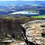 Canaan Valley From Valley View Trail Poster by Thomas R Fletcher