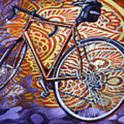 Cannondale Poster by Mark Howard Jones