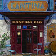 cantina Ala Poster by Guido Borelli