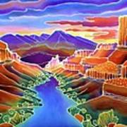Canyon Sunrise Poster by Harriet Peck Taylor
