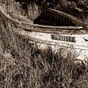 Cape Cod Skiff Poster by Luke Moore