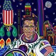Captain Mitt Romney - American Dream Warrior Poster by Robert SORENSEN