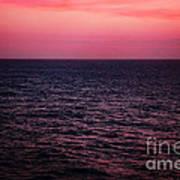 Caribbean Sunset Poster by Kim Fearheiley