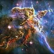 Carina Nebula 6 Poster by The  Vault - Jennifer Rondinelli Reilly