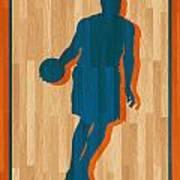 Carmelo Anthony New York Knicks Poster by Joe Hamilton