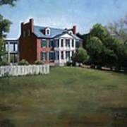 Carnton Plantation In Franklin Tennessee Poster by Janet King