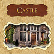 Castle Button Poster by Mike Savad