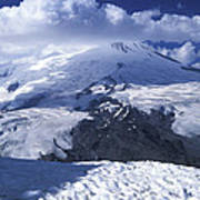 Caucasia Elbrus Poster by Unknown