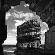Cave With A View Poster by Tony Reddington