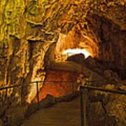 Cavern Aglow Poster by Kenan Sipilovic