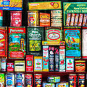 Central Grocery Essentials Poster by Brenda Bryant