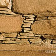 Chaco Bricks Poster by Steven Ralser