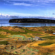 Chambers Bay Golf Course Poster by David Patterson
