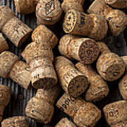 Champagne Corks Poster by Garry Gay