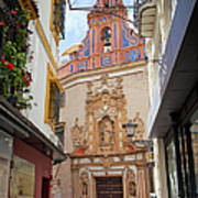 Chapel Of St. Joseph Of Seville Poster by Artur Bogacki