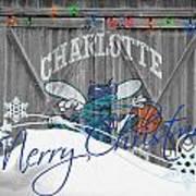 Charlotte Hornets Poster by Joe Hamilton