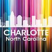 Charlotte Nc 2 Poster by Angelina Vick