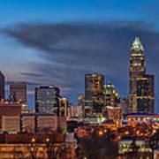 Charlotte North Carolina Poster by Brian Young