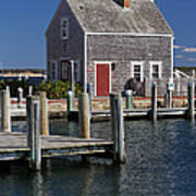 Charming Edgartown Harbor  Poster by Juergen Roth